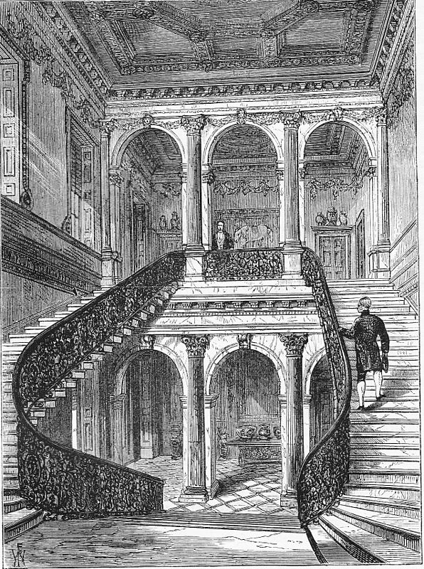 Chesterfield staircase